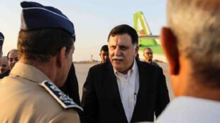 Le Premier ministre libyen, Fayez al-Sarraj, le 1er août 2016.
