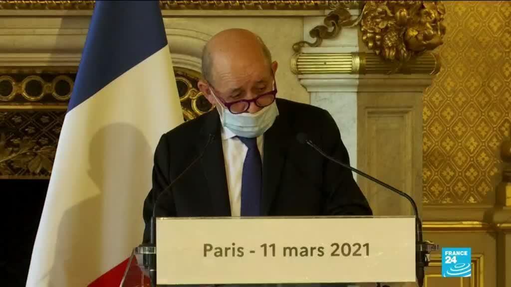 """2021-03-11 17:03 Paris accuse les responsables libanais de """"non assistance à pays en danger"""""""