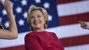 Hillary Clinton lors d'un meeting de campagne en Pennsylvanie, le 4 octobre 2016.