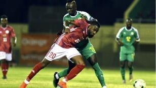 منتخب مدغشقر أمام السنغال في تصفيات كأس الأمم الأفريقية 2019.