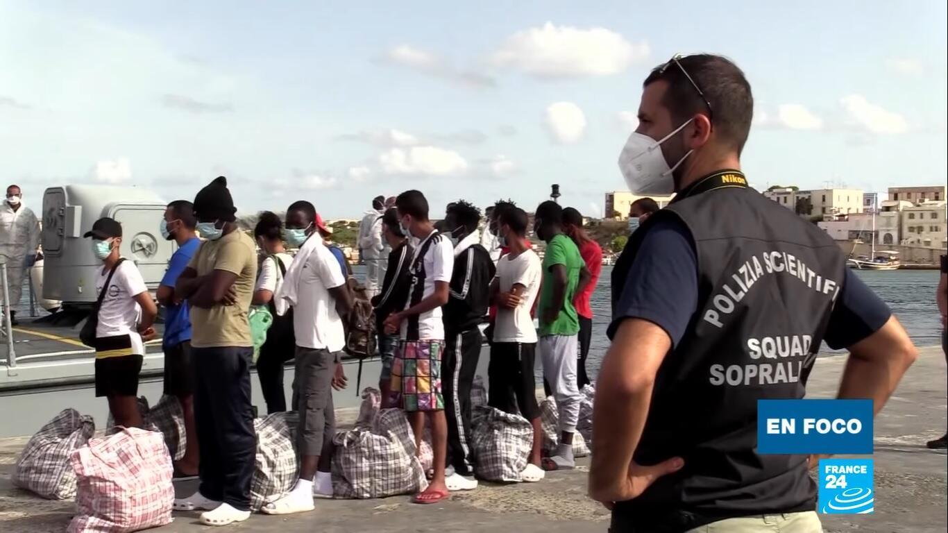 En Foco - Lampedusa migrantes