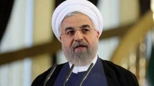 Hassan Rohani le 31 décembre 2017.