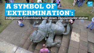 EN vignette colombia statue