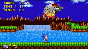 """""""Sonic The Hedgehog"""", sorti en 1991, un classique de la Mega Drive."""