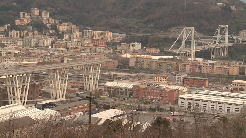 Four months after Genoa bridge collapse, residents want answers - Focus