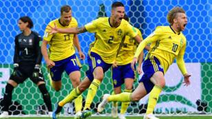 La Suède a mis fin au rêve des Suisses, en s'imposant par la plus petites des marges.