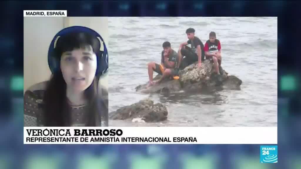"""2021-05-23 14:38 Verónica Barroso: """"Marruecos no garantiza los derechos de las personas que han sido devueltas"""""""