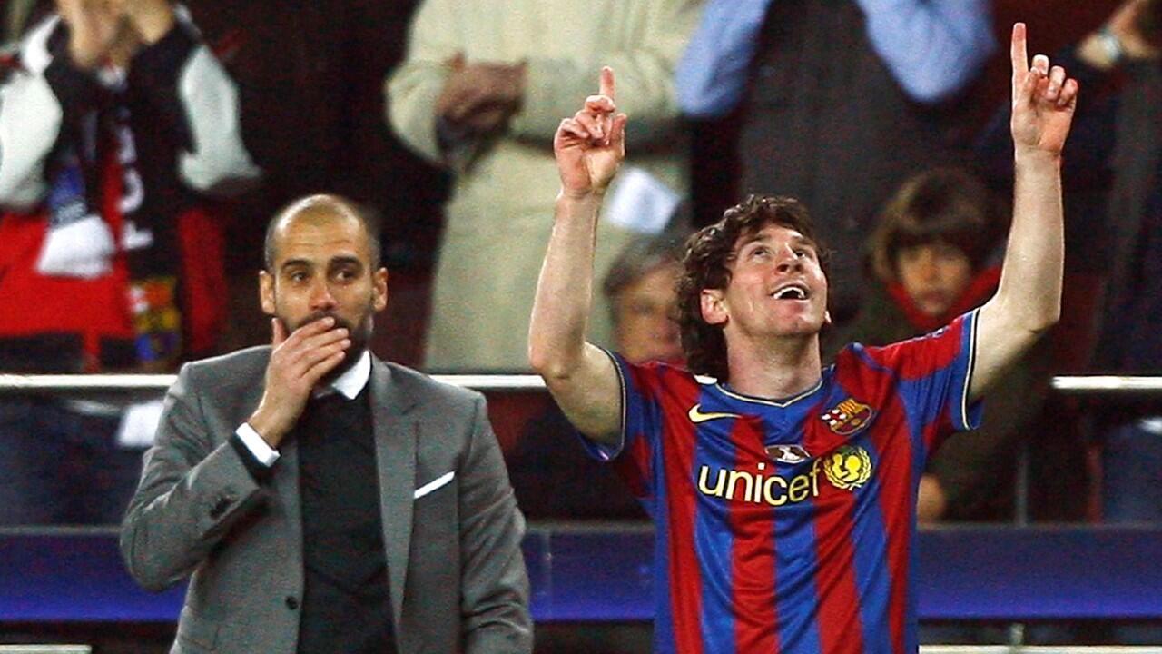 Lionel Messi podría reencontrarse con Josep Guardiola como entrenador si logra su salida del FC Barcelona.
