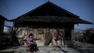 """Depuis l'arrivée au pouvoir du président chinois en 2012, 100 millions de ruraux sont sortis de la """"pauvreté absolue"""". Le 12 janvier 2021 dans le département de Baojing, province de Hunan dans le centre de la Chine"""
