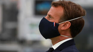 The French president has seen his ratings slide amid criticism of his response to the coronavirus pandemic.