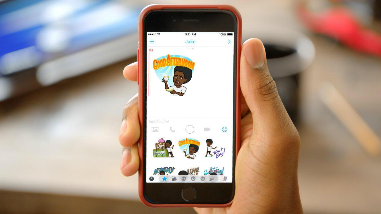 """Les """"bitmojis"""" de Bistrips sont disponibles sur Snapchat."""