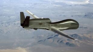 """صورة نشرتها القوات الجوية الأمريكية في 20 حزيران/يونيو 2019 لطائرة """"ار كيو 4 غلوبال هوك"""" المسيرة"""