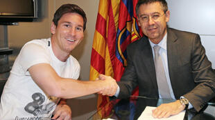 Josep Maria Bartomeu signed Lionel Messi to new contracts in 2014 and in 2017 and says the club has an obligation to keep its star player