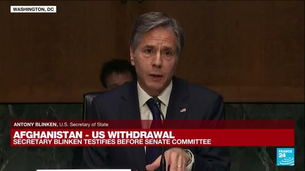 2021-09-14 17:00 REPLAY. Afghanistan: US Secretary Blinken testifies before Senate Committee