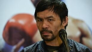 Philippines boxing icon Manny Pacquiao has told his son to forget about a career in the ring
