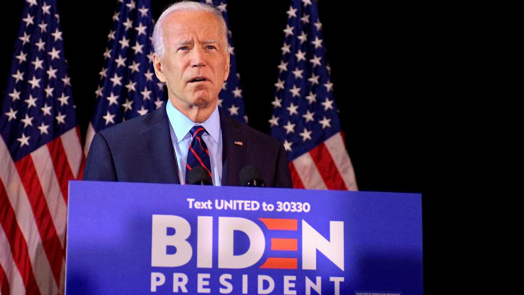 El demócrata Joe Biden es uno de los principales rivales de Donald Trump para las elecciones de 2020.