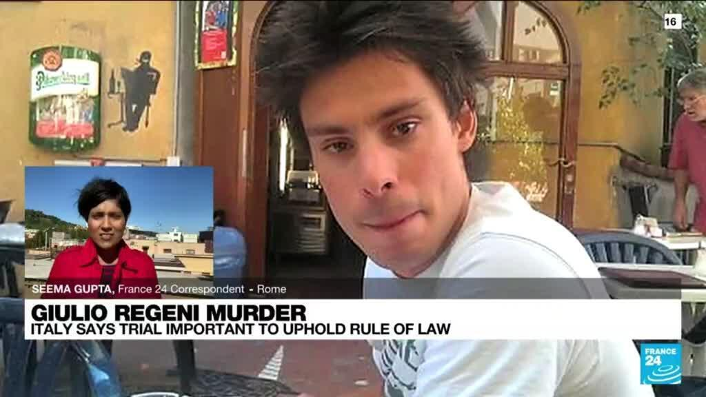 2021-10-14 12:05 Four Egyptian officers stand trial in Italy over Regeni murder
