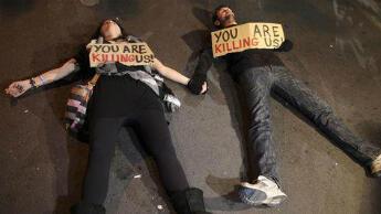 Des Chypriotes manifestent contre le plan d'aide européen à Nicosie, le 19 mars