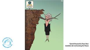Malgré son échec sur l'accord de sortie de l'Union européenne, Theresa May s'accroche à son poste de Première ministre.