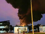 Large fire breaks out at chemical factory in northern France