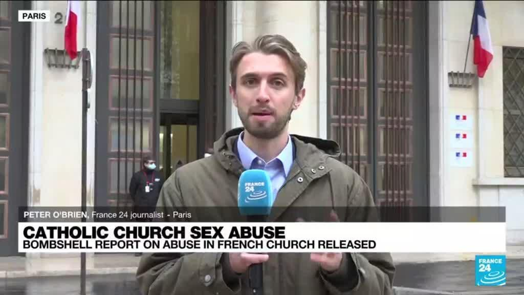 2021-10-05 12:02 Bombshell report on sex abuse in French Catholic Church released