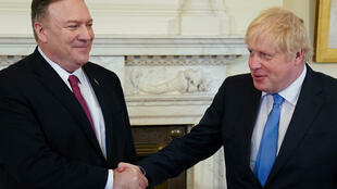 Mike Pompeo Boris Johnson Brexit Meeting