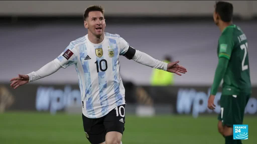 2021-09-10 11:13 Messi breaks Pele's record as Argentines return to the stadium