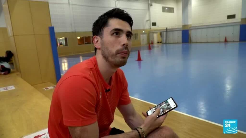 2021-07-26 16:20 Rémi Feutrier, head of Japan's handball team and social networks heavyweight