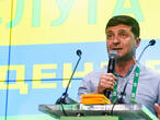 Ukraine's President Zelenskiy on course for big win in parliamentary election