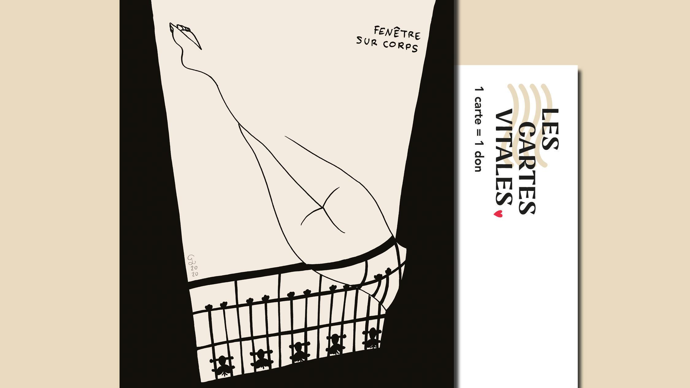 Six nouveaux artistes ont rejoint le projet, vendredi 24 avril, parmi lesquels JR, Charlotte le Bon et Petites Luxures.