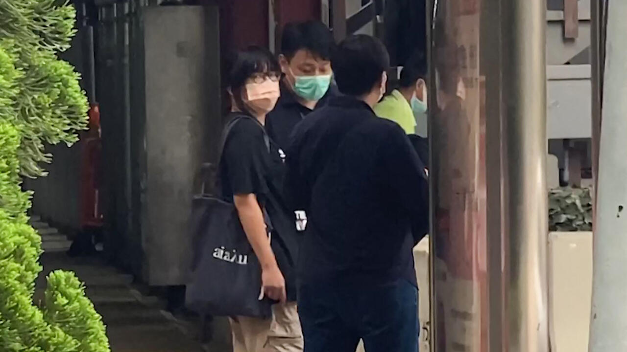 Chow Hang Tung arrested Hong Kong AFPTV