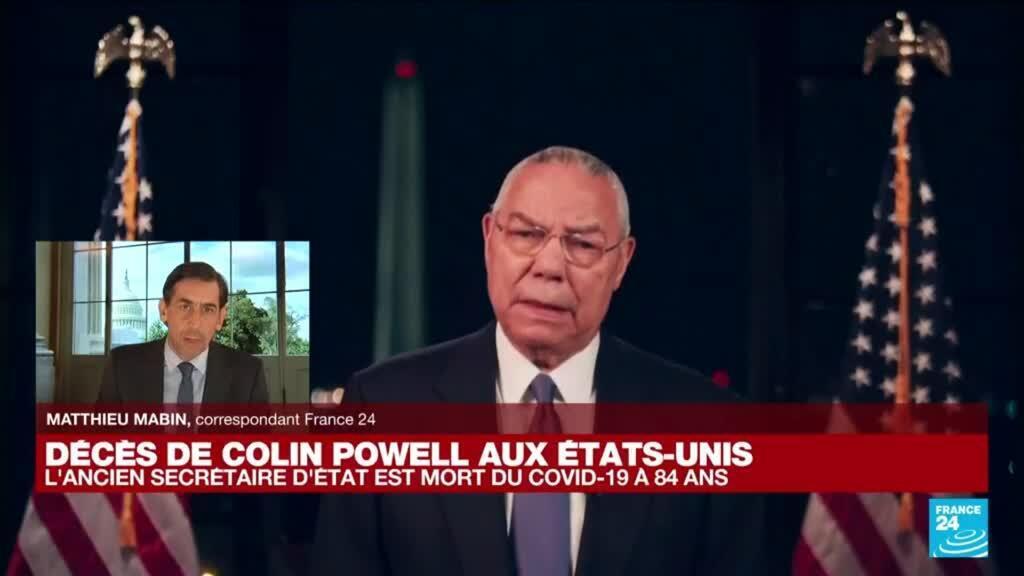 2021-10-18 17:01 Colin Powell, premier secrétaire d'Etat afro-américain, meurt du Covid-19