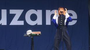 Suzanne, électron libre de la nouvelle scène électro, sur la scène du festival Musicalarue, jeudi15août, à Luxey.