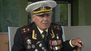 Ukrainian Red Army veteran  Ivan Zaluzhniy lost his grandson in the fighting in Donbas
