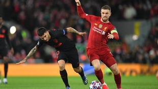 Liverpool captain Henderson feels 'safe' during training