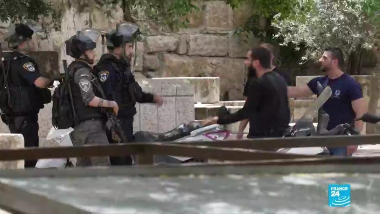 Retour sur une journée de violences à Jérusalem entre Palestiniens et policiers israéliens