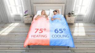 Le lit qui vous permet de contrôler la température.