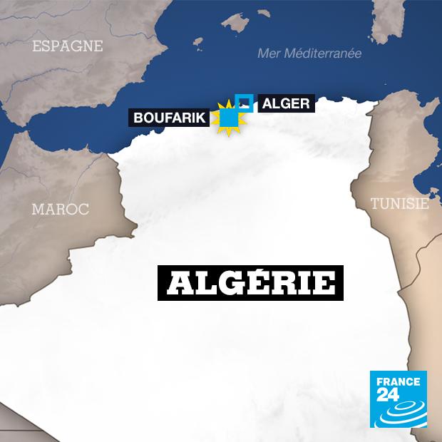 Carte Algerie Boufarik.Algerie Au Moins 257 Morts Dans Le Crash D Un Avion