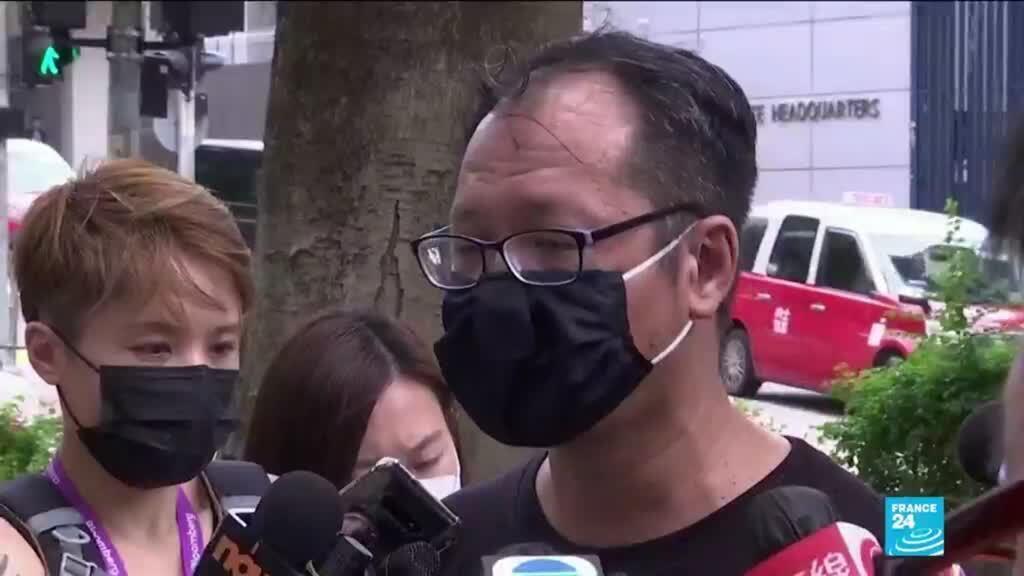 2021-06-04 11:01 Hong Kong vigil organizer arrested on Tiananmen anniversary