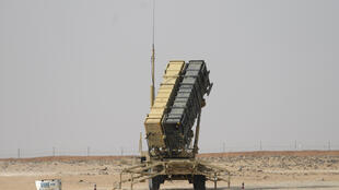 A Patriot missile battery near Prince Sultan Air Base at al-Kharj, Saudi Arabia