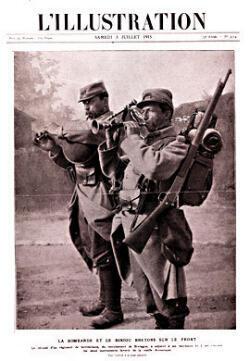 """Une de """"L'Illustration"""" du 3 juillet 1915"""