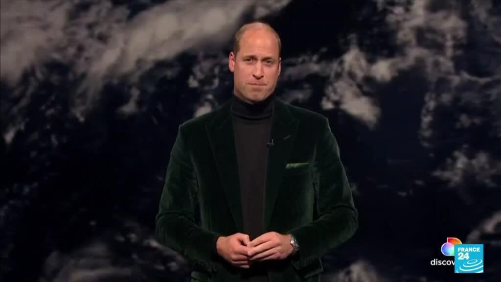 2021-10-18 09:44 Avant la COP26, le prince William remet son prix Earthshot pour le climat