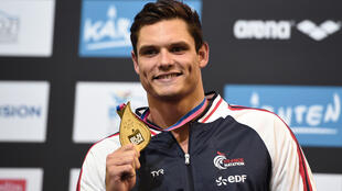 Florent Manaudou a été sacré champion d'Europe du 50 mètres nage libre.