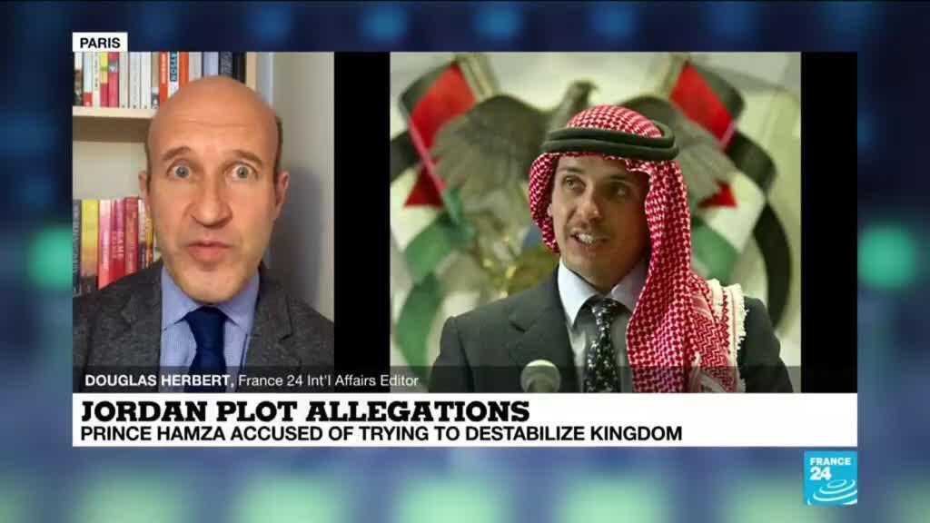 2021-04-05 14:04 Jordan's Prince Hamzah strikes defiant tone amid palace turmoil