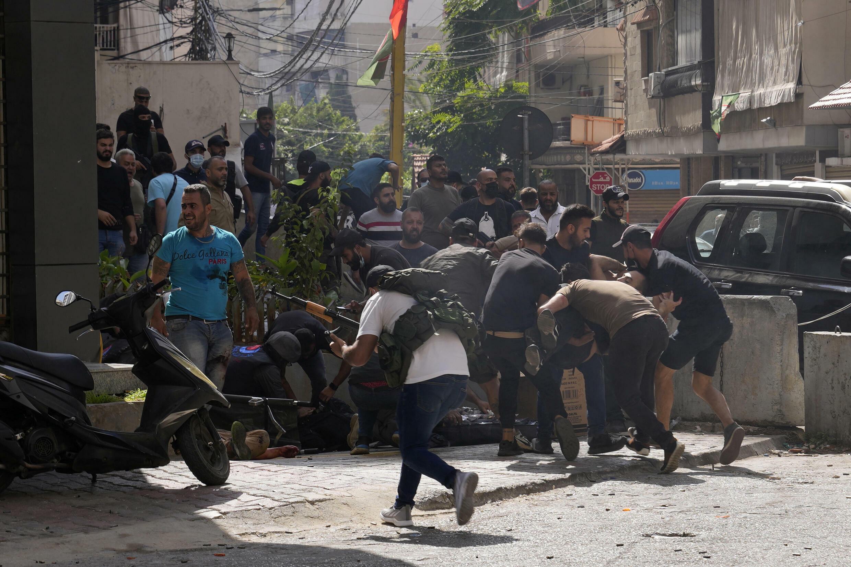 Affrontements à Beyrouth le 14/10/2021