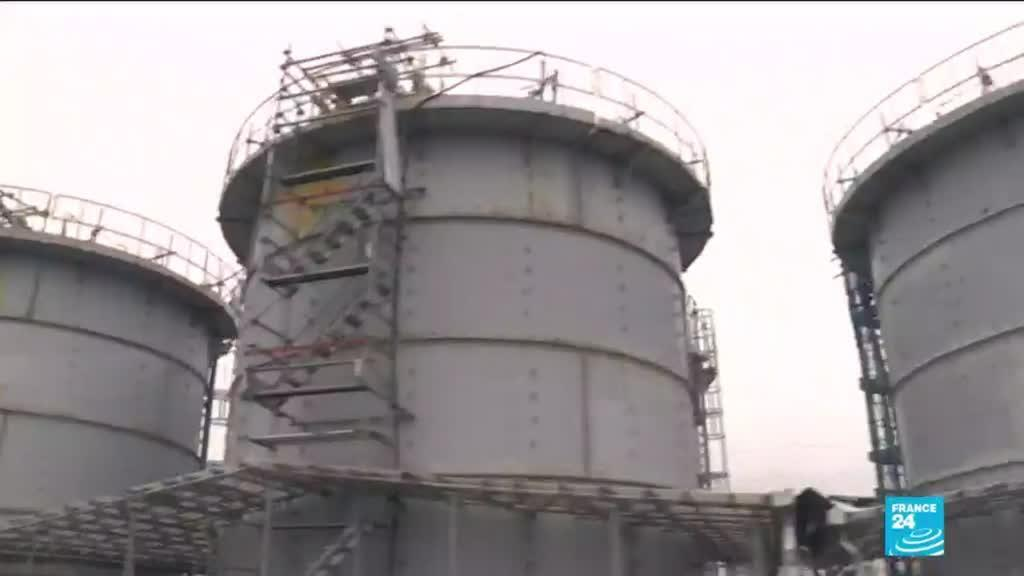 2021-04-13 11:07 Japan to release treated radioactive water from Fukushima disaster into the sea
