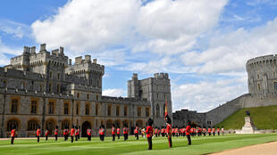 A smaller military parade was held to mark the Queen's official birthday at  Windsor Castle, where she has been staying during the COVID-19 outbreak