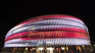 Le stade de San Mamés à Bilbao en Espagne, le 12 février 2020