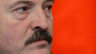 Le président biélorusse lors d'une visite au Kremlin en décembre 2013.