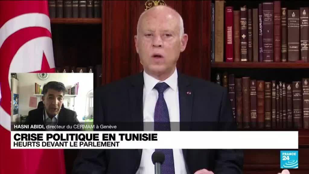 2021-07-26 17:05 Crise politique en Tunisie: les décisions du président sont constitutionnelles, selon un puissant syndicat